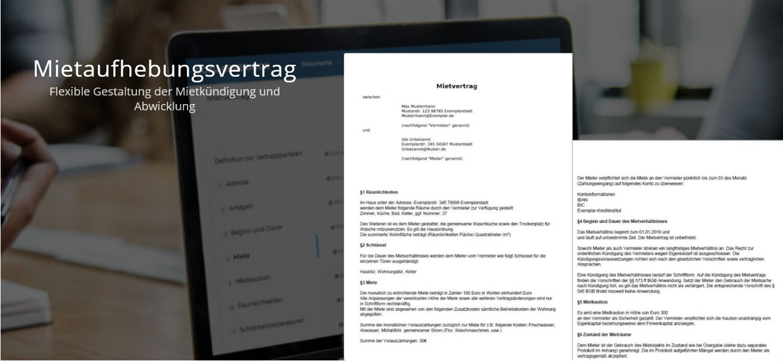 Muster des Mietaufhebungsvertrags - Flexible Gestaltung der Mietkündigung und -abwicklung